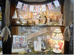 Mementos designs, honoring the Royal Wedding at Paris Flea Market.  Keep Calm and Carry On banner kids and more!