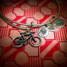 Bike charm: #wellness #movement #spirit #alexandani #arthursjewelers