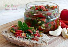 Peperoni sottolio ricetta PRIC PRAC di Molfetta