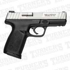 """Features & Benefits • SDT™ 8 lb. (+/-) Self Defense Trigger for Optimal, Consistent  Pull First Round to Last CA Compliant • Tactile Loaded Chamber Indicator • Dovetailed, White Dot Sights • Standard, Picatinny-Style Rail • Ergonomic, Textured Grip • Textured Finger Locator • Aggressive Front and Back Strap Texturing • Distinctive Two-Tone Finish • Front and Rear Serrations Model: SW9VE Caliber: 9mm Capacity: 10+1 Rounds Action: Striker Fired Action Barrel Length: 4"""" / 10.2 cm…"""