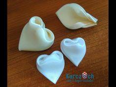 Kanzashi #14 - Heart Petal Second video - YouTube