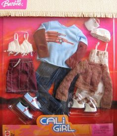 Barbie Cali Girl Ken Barbie Fashion Clothes (2004) | eBay