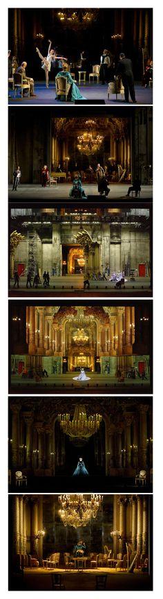 2016 Palais Garnier / Paris Opera Music:Richard Strauss Director:Robert Carsen Set design:Michael Levine Costume design:Anthony Powell Lighting design:Robert Carsen, Peter Van Praet