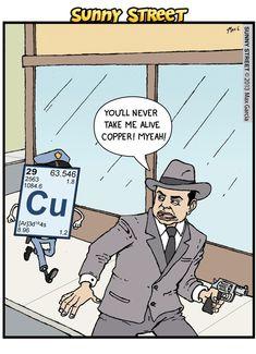 Ha! Science jokes