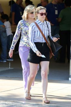 Gillian Jacobs Photos: Gillian Jacobs Spends the Day with Her Mom