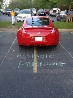 Funny pictures about A spot just for you. Oh, and cool pics about A spot just for you. Also, A spot just for you. Just For Laughs, Just For You, Bad Parking, Parking Spots, Parking Tickets, Buy Tickets, Pet Peeves, Humor Grafico, Laugh Out Loud
