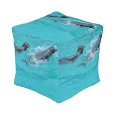 Sweet Seals, Cube Pouf