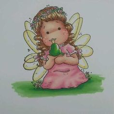Magnolia Tilda Ink Mag | Magnolia Fairytale Tilda card topper