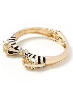 Zebra Bracelet Banana Republic