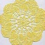 Free Crochet Doily Patterns Online We all love the delicately done crochet doilies. Thread Crochet, Crochet Crafts, Easy Crochet, Crochet Projects, Free Crochet Doily Patterns, Crochet Motif, Crochet Lace, Free Pattern, Crochet Coaster