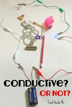 possible class star center: Conductivity Experiment with Electricity. Great idea for STEM technology lesson!  via @karyntripp