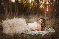 Chick and classy maternity photos with neutral champagne gown by sew trendy accessories  #maternityphotos Maternity_photographer_Rochester_NY