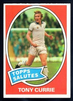 tony currie - leeds united Soccer Cards, Football Cards, Football Shirts, Football Players, Football Accumulator, The Damned United, Real Champions, Leeds United Fc, Football Stickers