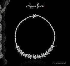 Girocollo in oro e diamanti. Un tocco prezioso al tuo outfit. By Gianni Carità  #gold  #jewels #jewellery #italy #oro #girocollo #precious #madeinitaly #wedding #diamanti #diamond #preziosa #precious #luxury #love #lusso #luxurybrand