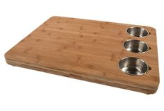 Pro chef butchers block and prep bowls - sweet!!