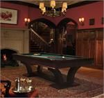 The beautifully arched legs create a unique look and turn the Treviso pool table into a work of art. Olhausen Pool Table, Brunswick Pool Tables, Brunswick Billiards, Pool Cues, Space Interiors, Billiard Room, Game Room, New Homes, Interior Design