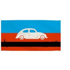 VW Bug Super Soft Beach Towel