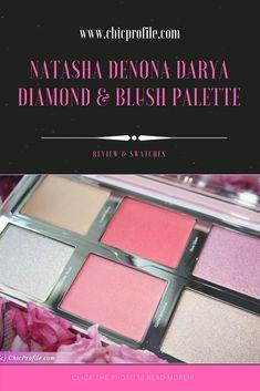 Natasha Denona Darya Diamond & Blush Palette ($89.00 for 6 pcs x 7g / 0.25 oz) includes six shades in creamy and powder formulas. We have a creamy base highlighter, cream blush, powder blush and three highlighters with different texture.  via @Chicprofile