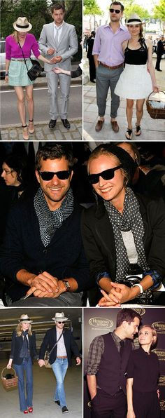 Joshua Jackson and Diane Kruger Casual Style