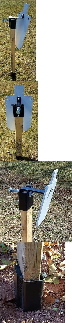 Targets 73978: Steel Target Stand, Ar500 Steel Spiked Base And 2X4 Hanger, Target Not Included -> BUY IT NOW ONLY: $53.75 on eBay!