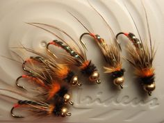 Now this ought to make Mike drool!  Steelhead caddis beadhead nymphs