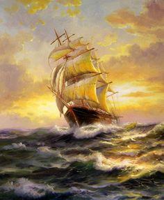 Sailboat (author Sergei Minaev, 2011)