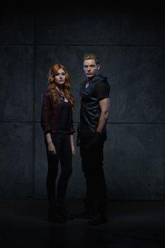 Clary Fray and Jace Wayland Promo Shadowhunters Season 1
