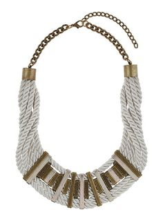 Cord And Bar Collar - Accessories