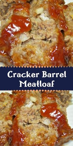 My mom used to make the best meatloaf. She got the recipe from her mom, and then… My mom used to make the best meatloaf. She got the recipe from her mom, and then that was the one that I used for years and years. My husband always said it was good, Good Meatloaf Recipe, Best Meatloaf, Meatloaf Recipes, Meat Recipes, Cooking Recipes, Dump Recipes, Supper Recipes, Crockpot Recipes, Recipies