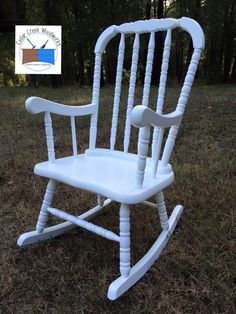 Painted Vintage Childu0027s Rocker · Rocking ChairsJenny ...