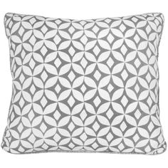 Korla Home - Quadria Steel Cushion (€81) ❤ liked on Polyvore featuring home, home decor and throw pillows