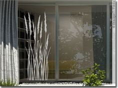 Fensteraufkleber Sommer Gras - New Ideas Most Beautiful Wallpaper, More Wallpaper, Window Art, Window Film, Window Stickers, Window Decals, Sand Glass, Boutique Decor, Window Design