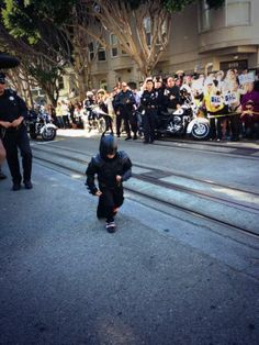Batkid busy saving San Francisco in epic fashion