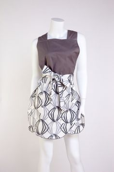 Dress Inspired Apron www.annperrydesigns.com