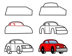 how to draw cars step 3 httpwww