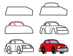how to draw cars step 3 httpwww