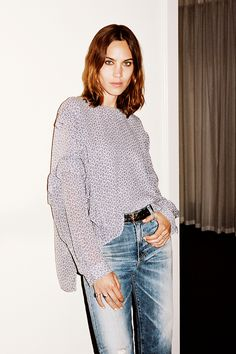 Alexa Chung–approved? That's all we needed to hear—stocking up on AG Jeans now. #ad
