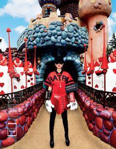 """""""A playful Sense Of Wonder"""" Vogue Japan, Abril 2014 #moda #tendencias #inspiración #style"""