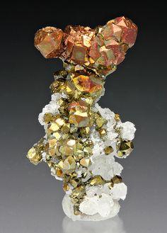 Pyrite with Quartz