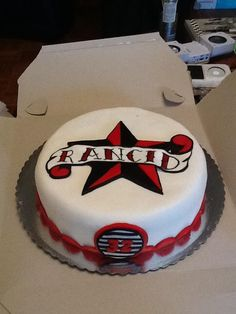 Rancid birthday cake!