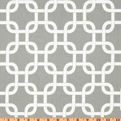Table Runner Grey and White Chain Chevron Table by fourbugsinarug