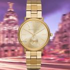 NWT InBox Michael Kors Jaryn Champagne Multifunction Dial 38mm Gold Watch MK3500