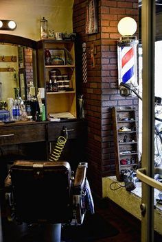 Unknown barber shop.
