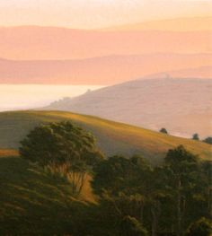 Northern California Coastal Landscape--original oil painting from Marin County. http://terrysauve.com/available-painting/