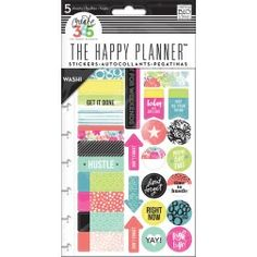 Me & My Big Ideas - Create 365 The Happy Planner - Live Loud Washi Stickers
