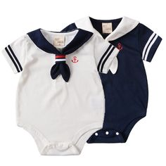 Wholesale mountain baby from Cheap mountain baby Lots, Buy from Reliable mountain baby Wholesalers. Baby Boy Newborn, Baby Boys, Style Salopette, Baby Boy Outfits, Kids Outfits, Short Bebe, Style Marin, Sailor Baby, Kids Uniforms