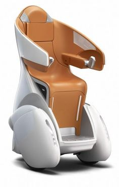 Toyota's i-REAL personal mobility concept nears commercialization.   This has two modes walking at 6 mph. And cruise mode at 18 mph.