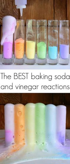 12 Magic Reaction for the Best Baking Soda and Vinegar