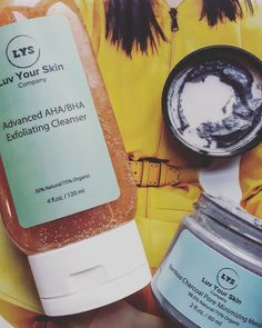 Face-care ft Luv Your skin Company #skincare #ecobeauty #greenbeauty #locallymade #canadian #madeincanada #organic #natural