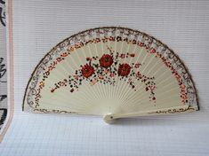 Antique Hand Painted Signed LaVenoilla-Goya Spanish Fan from ...